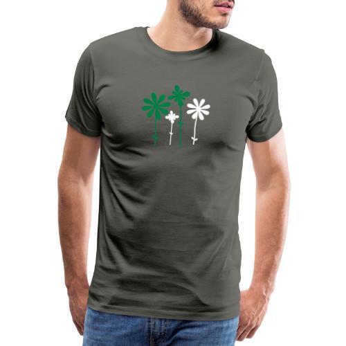 Sommerblume - Männer Premium T-Shirt