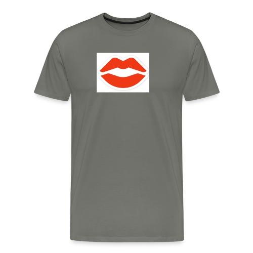 lips - Männer Premium T-Shirt