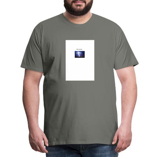 Blitz Einschlag - Männer Premium T-Shirt