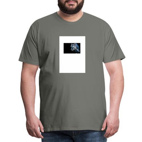 cooler Tiger - Männer Premium T-Shirt