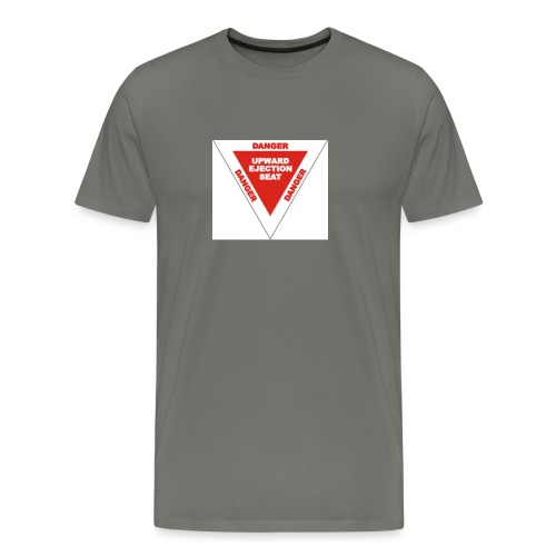 Danger Ejection Seat - Mannen Premium T-shirt