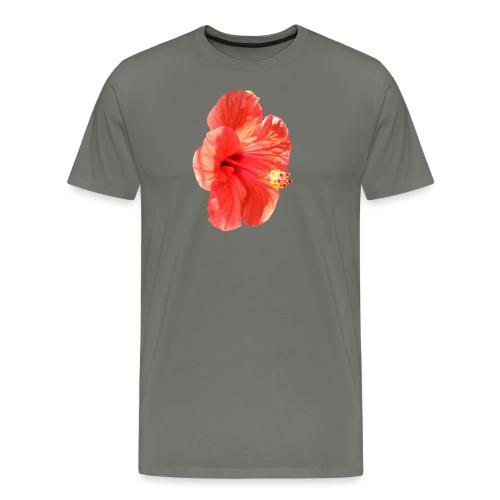A red flower - Men's Premium T-Shirt
