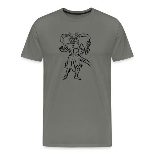 Tempelwaechter KSB schwar - Männer Premium T-Shirt