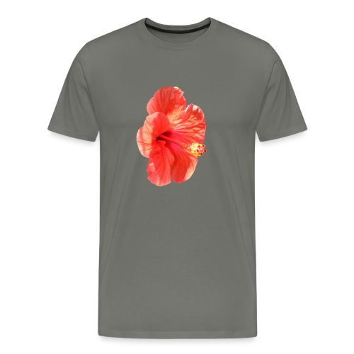 A red flower - Men's Premium T-Shirt