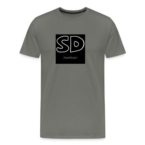 SwizzDivert Schlicht - Männer Premium T-Shirt