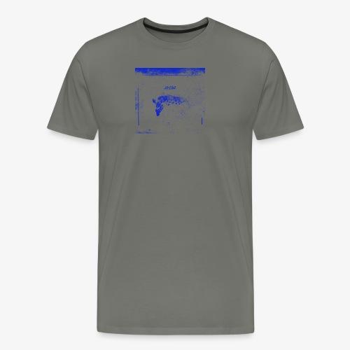 Hyena Blue - Premium-T-shirt herr