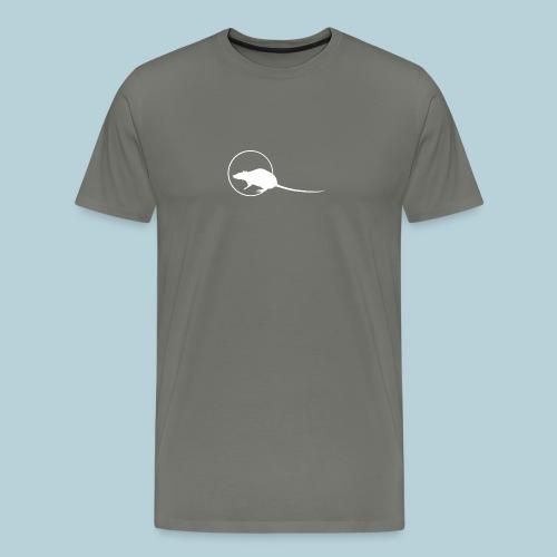 RATWORKS Brand Stamp Wt - Men's Premium T-Shirt