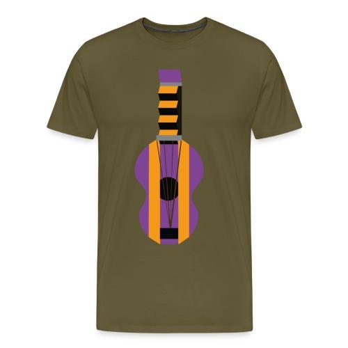 La Gitarre - Premium T-skjorte for menn