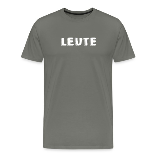 Leute 2 png - Männer Premium T-Shirt