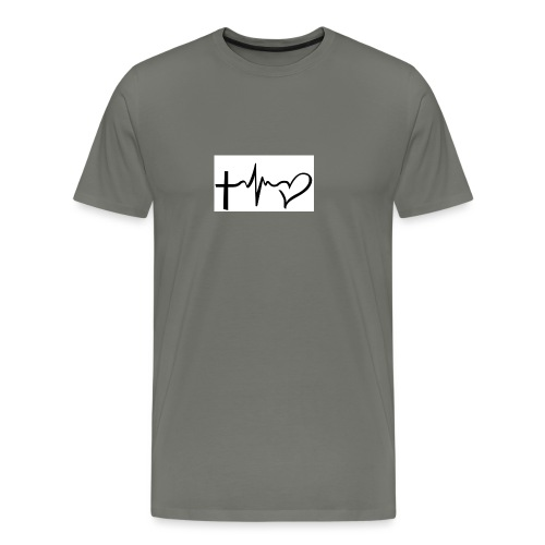 Hope,Live,Love - Men's Premium T-Shirt