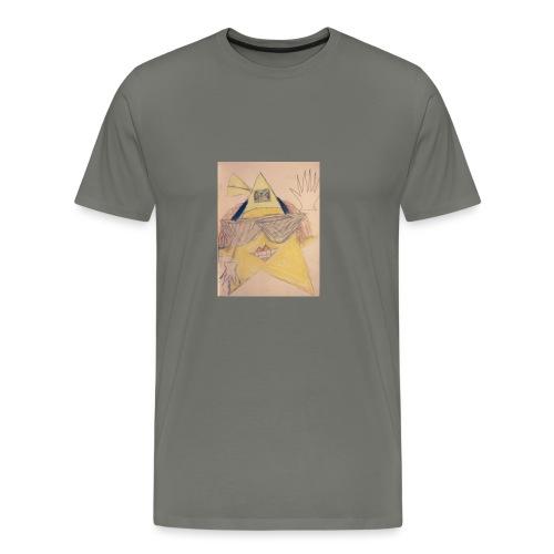 cool jamican star - Men's Premium T-Shirt