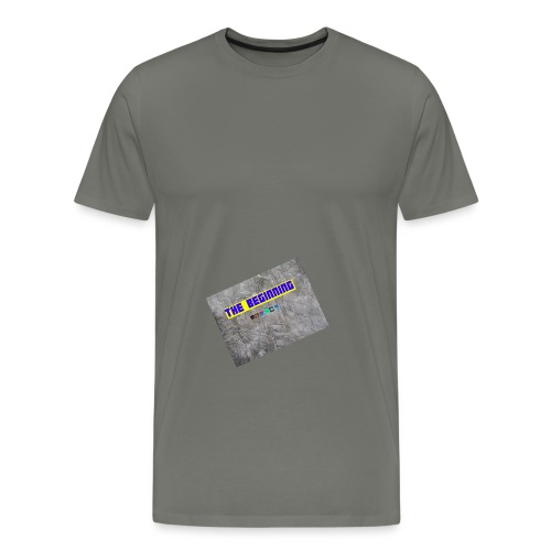 The Beginning - Men's Premium T-Shirt