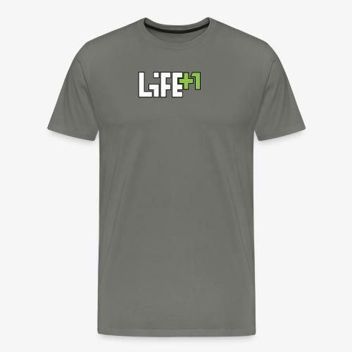 Life +1 - Men's Premium T-Shirt