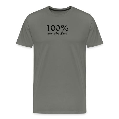 100% bez sterydów - Koszulka męska Premium