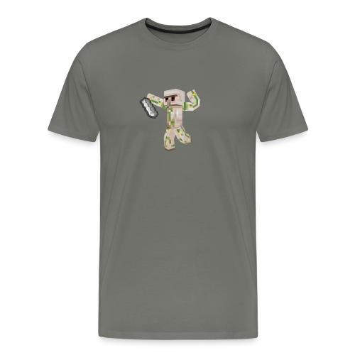 Starka GolemGamingYT - Premium-T-shirt herr
