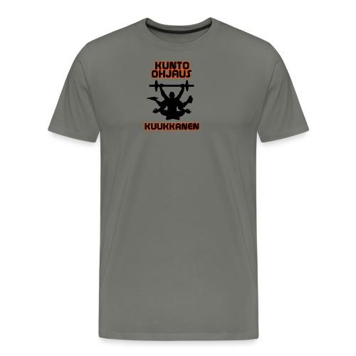 Kunto-ohjaus Kuukkanen Logo - Miesten premium t-paita
