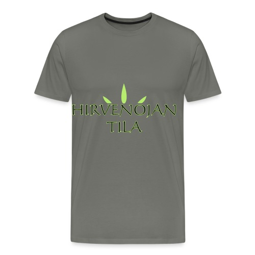 Hirvenojantila - Miesten premium t-paita