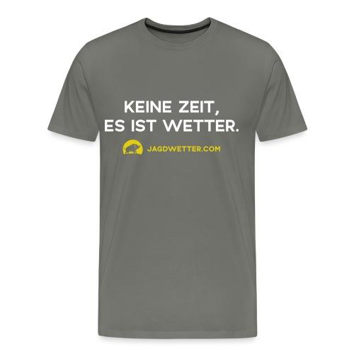 spruch weiss url gelb - Männer Premium T-Shirt
