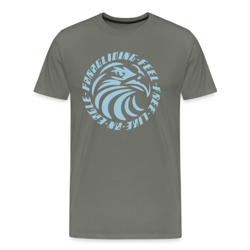 FEEL FREE LIKE AN EAGLE - Men's Premium T-Shirt