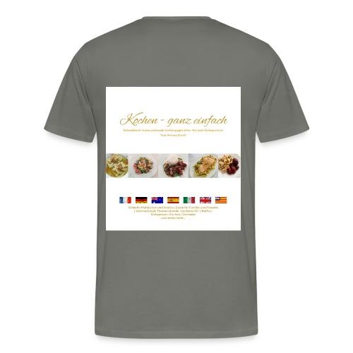 Kochen ganzeinfach - Männer Premium T-Shirt