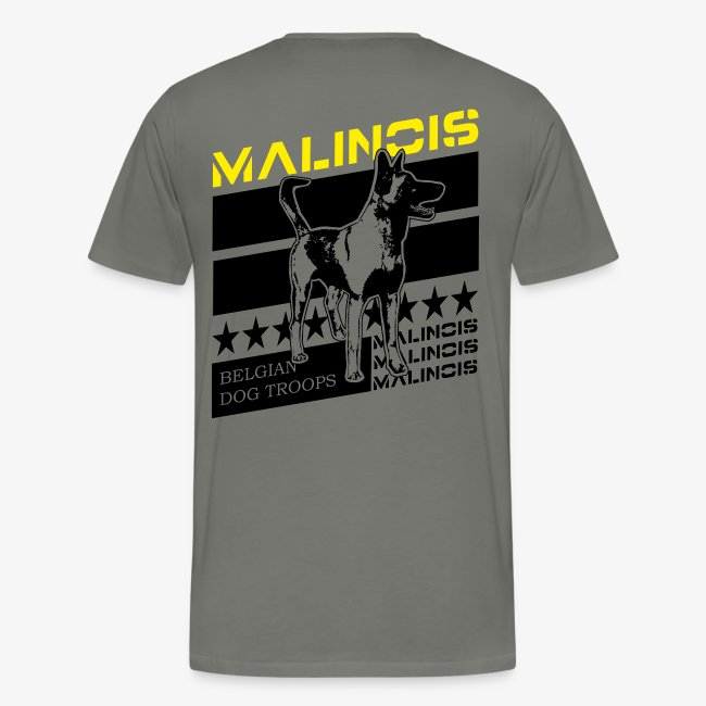 Malinois Dog Troops