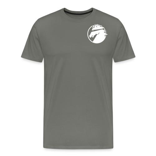 ninja_logo_sv - Premium-T-shirt herr