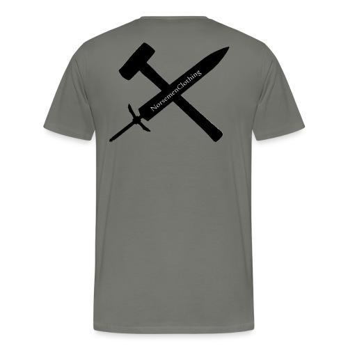 SwordSledgehammer - Premium-T-shirt herr