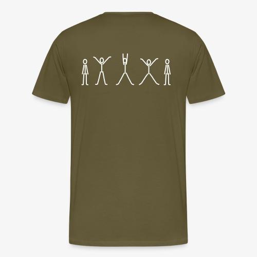 iYpsilon Hampelmann - Männer Premium T-Shirt