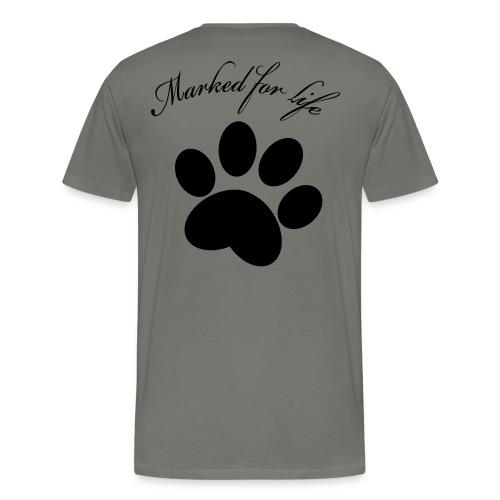 marked for life only - Premium-T-shirt herr