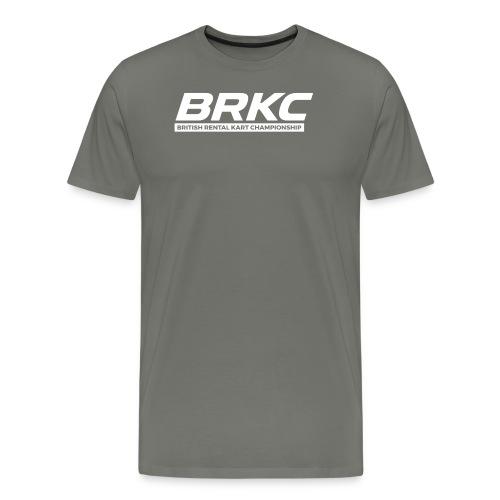 BRKCNewLogoWhite - Men's Premium T-Shirt