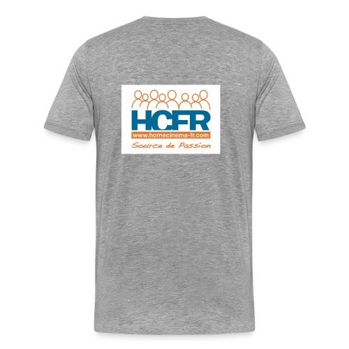 logo hcfr blanc 400 - T-shirt Premium Homme