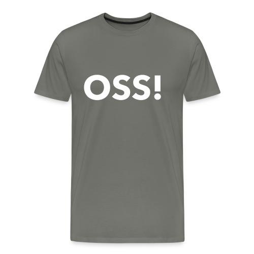 mi OSS white - Men's Premium T-Shirt