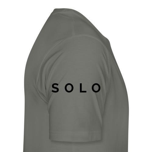 hs final name h - Men's Premium T-Shirt