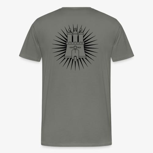 Hamburg rollt! 1-farbig - Männer Premium T-Shirt