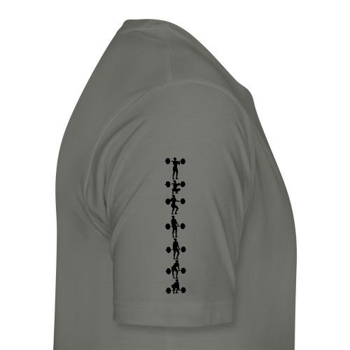 Umsetzen Serie hoch Frau - Männer Premium T-Shirt