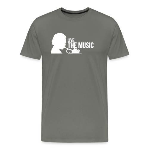 Live the Music - T-Shirt - Männer Premium T-Shirt