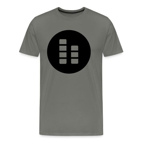 ctylight icon bild rund - Männer Premium T-Shirt