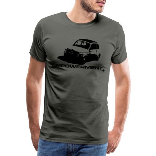 oldtimer empowerment - Premium T-skjorte for menn