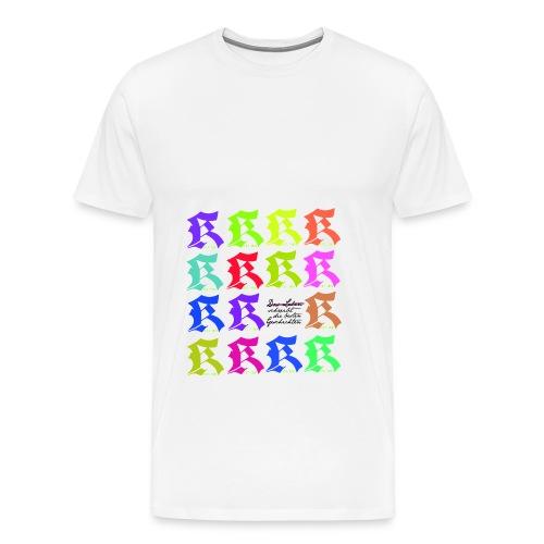 K_SHIRT_MUSTER - Männer Premium T-Shirt
