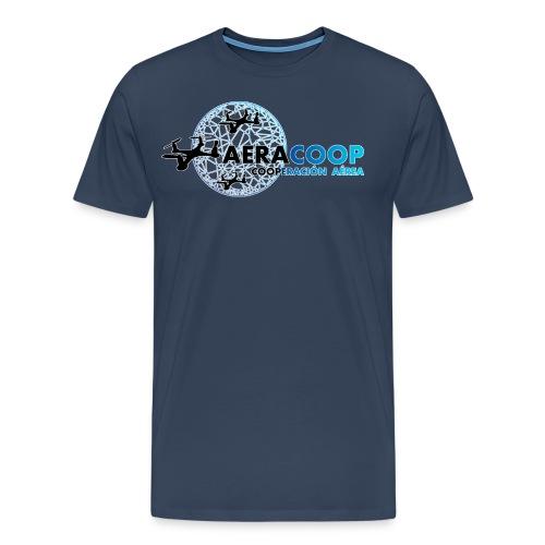 Logotipo de aeracoop - Camiseta premium hombre