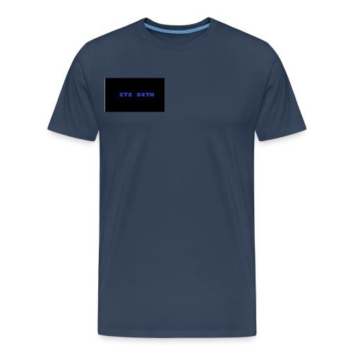 Itz Sxth Navy Clothing - Men's Premium T-Shirt