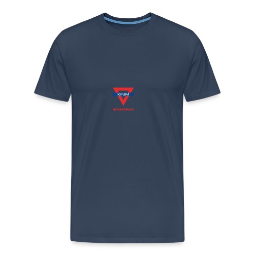 kfum-norrkoping_logo_triangel_utan-streck - Premium-T-shirt herr