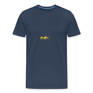 ROC Jaune sur bleu - T-shirt Premium Homme