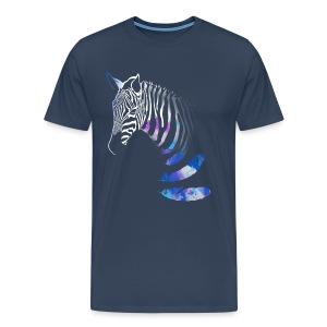 X-Shirt mit Zebra design - Männer Premium T-Shirt