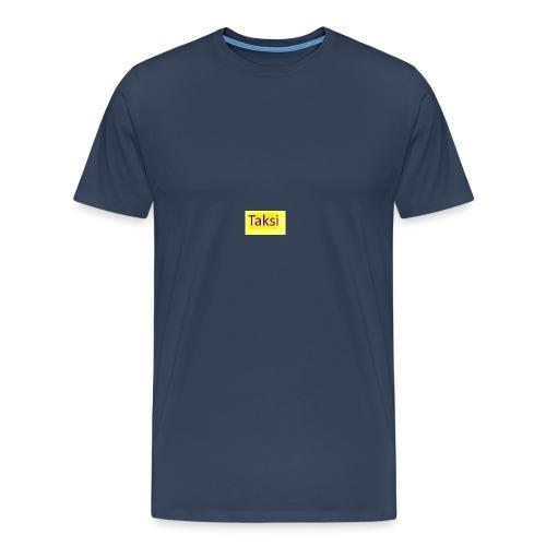 Taksi - Miesten premium t-paita