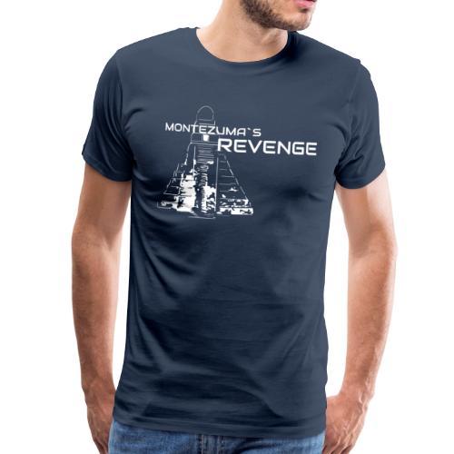 monte transparent white - Männer Premium T-Shirt