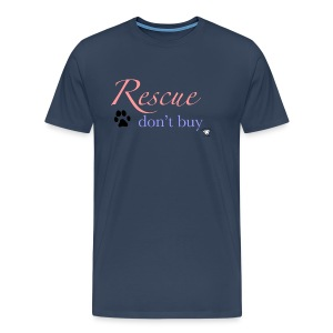 Rescue don't buy - Men's Premium T-Shirt