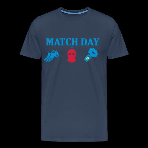 MatchDay - Premium-T-shirt herr