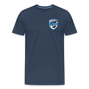 tjornscykelklubb-logga - Premium-T-shirt herr