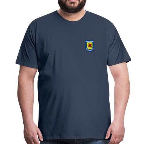 Wappen (farbig) - Männer Premium T-Shirt